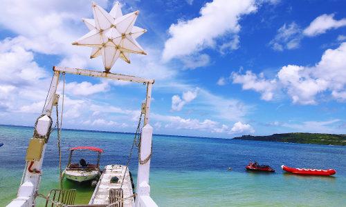 「ウッパマビーチ」優しい波音が心に入ってくる自然のビーチ!