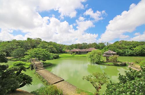 世界遺産「識名園」は貿易相手国である首脳を接待した歴史ある庭園