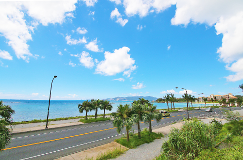「西海岸リゾートホテル通り」はドライブスポット。沖縄を堪能せよ!