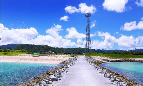 「辺土名ビーチ」キャンプも自由な天然プライベートビーチ!
