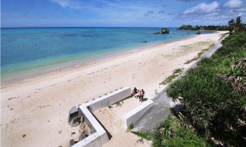「今泊ビーチ」沖縄の静かで素朴な海を紹介するよ!