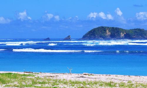「安田漁港海岸」釣り人さんいらっしゃ~い。田舎ビーチを紹介するよ