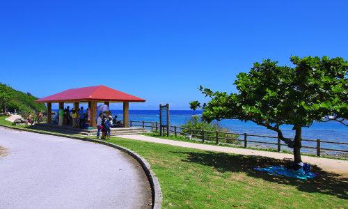 「大度海岸」ダイビング、シュノーケルで盛り上がる沖縄の海!