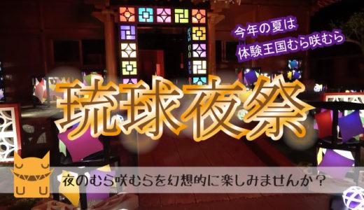 体験王国むら咲むら「琉球夜祭」で夜のフォトを楽しもう!