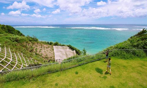 「ながはま海岸」は東海岸の海が見渡せる景観スポット!