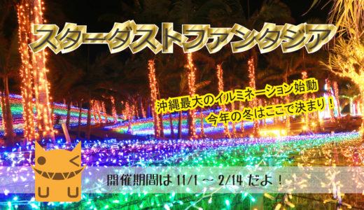 スターダストファンタジアで盛り上がる沖縄最大のイルミネーション!