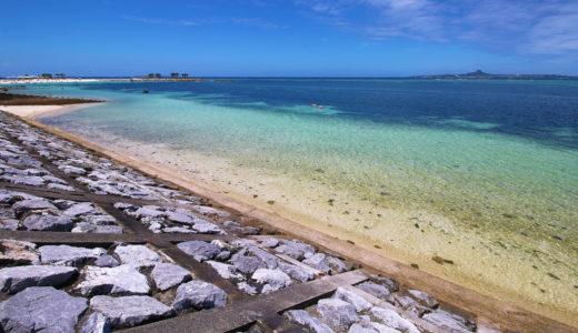 「備瀬ビーチ」はシュノーケルも楽しめる天然の海!これぞ沖縄!